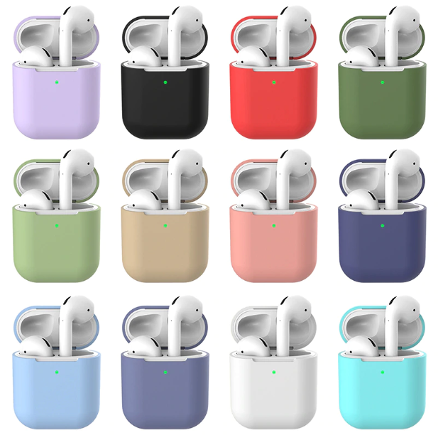 Basis siliconen Airpod hoesjes