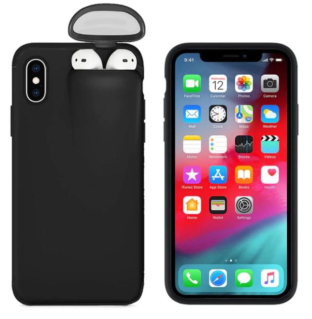 Combinatie van Airpod hoesje en Iphone hoesje