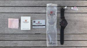 Alles bij het Naviforce horloge