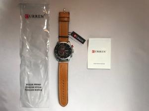 Alle onderdelen van het Curren horloge